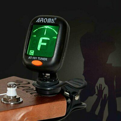 $ CDN6.19 • Buy Digital Chromatic LCD Clip-On Electric Tuner Fits For Bass Guitar Ukulele Violin