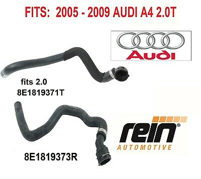 $125 • Buy Coolant Heater Hose Heater Core To Pipe Fits 2.0T Audi A4 A4 Quattro ; OEM 2PCS