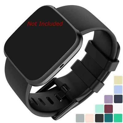 $ CDN8.05 • Buy Silicone Watch Strap Band Men's Women's Compatible With Fitbit Versa 1, 2, Lite