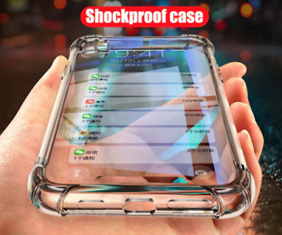 Case For IPhone 12 11 Pro Max 7 8Plus XS Max XR Shockproof Liquid Silicone Cover • 3.49£