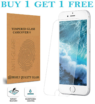 For IPhone 7 6 6s 8 Plus SE 2 2020 Genuine Tempered Glass Screen Protector  • 1.74£