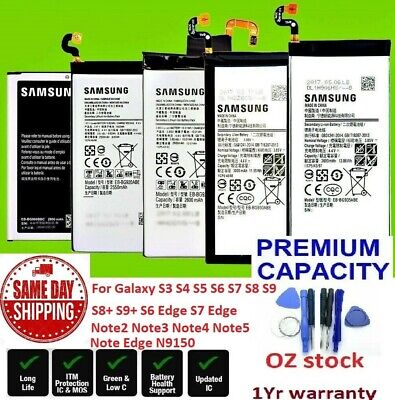 AU18.99 • Buy Battery For Samsung Galaxy Note2 Note3 Note4 Note5 Note Edge N9150