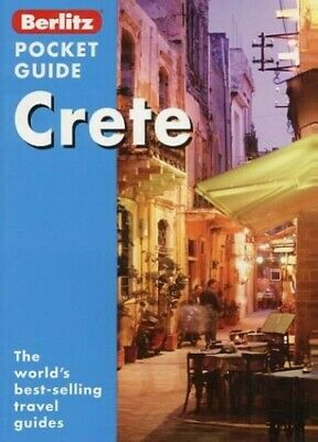 Crete Berlitz Pocket Guide (Berlitz Pocket Guides) By Unknown Paperback Book The • 4.49£