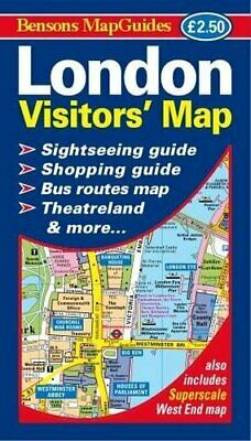 £7.61 • Buy London Visitors' Map By Bensons MapGuides Book The Cheap Fast Free Post