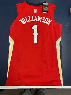 $49.99 • Buy Zion Williamson Nba Nike Jersey Adult Large New Orleans Pelicans