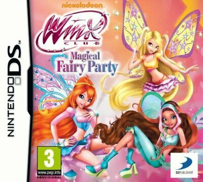 Winx Club - Magical Fairy Party (Nintendo DS) - Game  U8VG The Cheap Fast Free • 15.69£