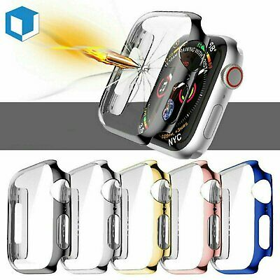 $ CDN8.14 • Buy IWatch Screen Protector Case Snap On Cover For Apple Watch Series 6 5 4 3 2 1 SE