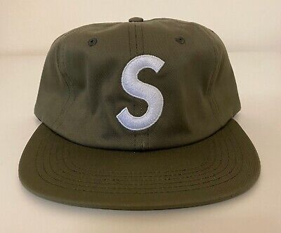 $ CDN363.93 • Buy Supreme S Logo 6-Panel Olive White F/W 2014 Hat Cap RARE BRAND NEW W Tags
