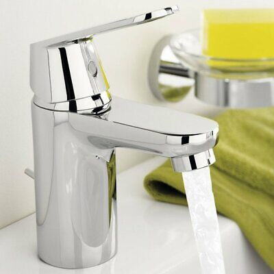Grohe Eurosmart Cosmo Chrome Basin Mixer Single Lever Tap Taps 32824000 New • 59.99£