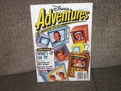 $5.99 • Buy Disney Adventures Magazine OCTOBER 1993 What's Up On TV