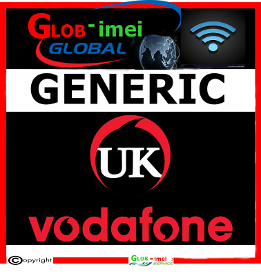 Unlocking Code For  LG . Nokia . Lumia . Sony . Blackberry ..Vodafone UK • 5.99£
