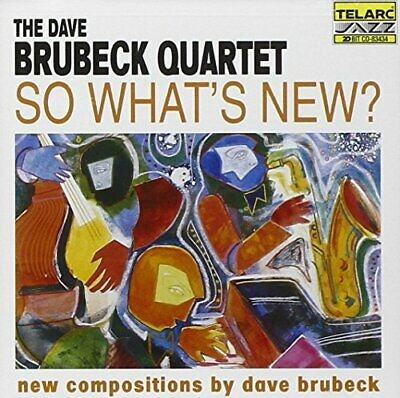Dave Brubeck Quartet - So What's New? - Dave Brubeck Quartet CD 5JVG The Cheap • 3.49£