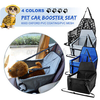 £10.95 • Buy 42*30*25CM Car Seat + Carrier Cat Small Dog Pet Puppy Travel Cage Booster