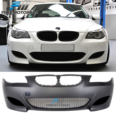 $359.99 • Buy Fit 08-10 BMW E60 5-Series M5 Style Front Bumper Conversion Air Duct PP