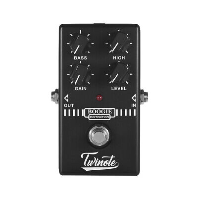 $ CDN31.42 • Buy Twinote BOOGIE DISTORTION Analog Old School Distortion Guitar Effect Pedal