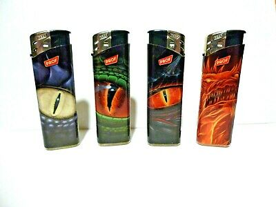 £3.30 • Buy 5 X DRAGON  THEME LIGHTERS DISPOSABLE ELECTRONIC  LIGHTER
