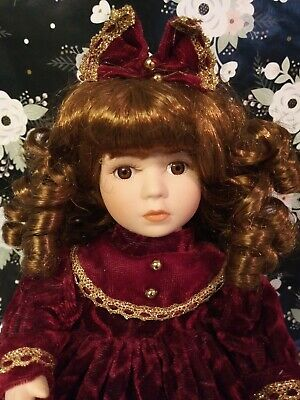 $ CDN10.76 • Buy Victorian Girl Porcelain Doll From The Collector's Choice Series By Dandee