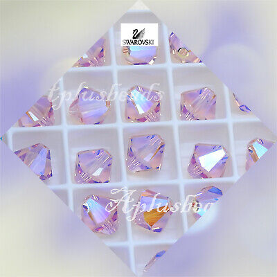 $6.99 • Buy Authentic Swarovski Crystal  #5301,#5328 8mm Bicone Beads 12pcs Special Coating