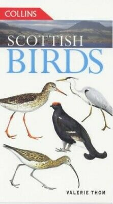 £7.29 • Buy Scottish Birds (Collins Guides) By Thom, Valerie Paperback Book The Cheap Fast