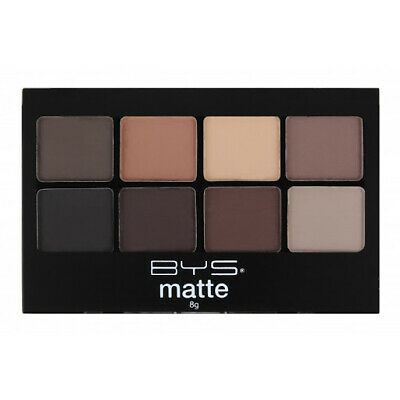 AU8.95 • Buy BYS 8 Colour Matte Eyeshadow Palette Neutrals 8g