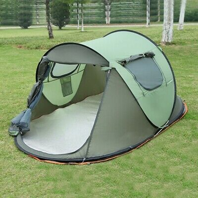 AU340.99 • Buy 4 6 Man Person Instant Lightspeed Tent Automatic Pop Up Quick Camping Shelter