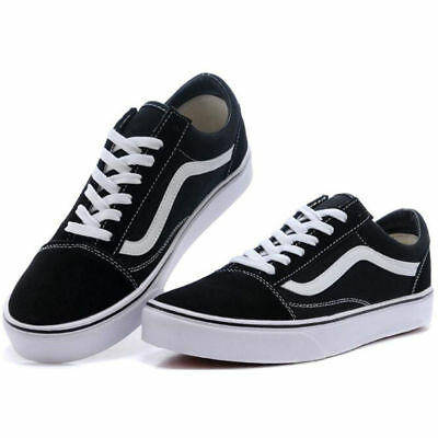 AU43.95 • Buy New Men's Women's VAN Classic OLD SKOOL Low Top Canvas Sneakers Shoes Casual #AU