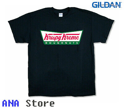 $15.90 • Buy New Top Krispy Kreme Donuts Doughnuts Logo Ringer Unisex Short Sleeve T Shirt