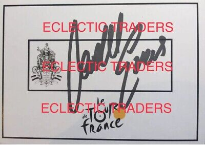 £107.04 • Buy Cadel Evans SIGNED Tour De France Cycling Card. 2011 YELLOW JERSEY WINNER! PROOF