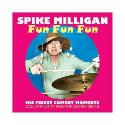Spike Milligan : Fun Fun Fun CD 2 Discs (2013) Expertly Refurbished Product • 2.91£