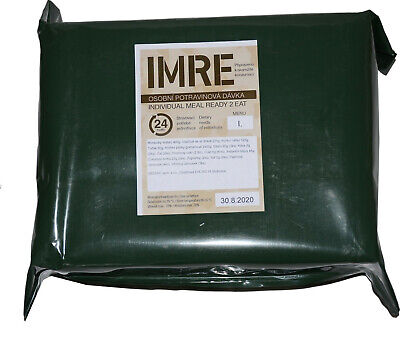 $79 • Buy Czech Mre, Army Ration, Emergency, Meal Ready To Eat, Canned Food, Military