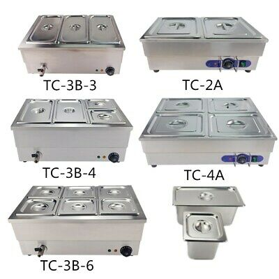 £135 • Buy Commercial Bain Marie GN Pan Electric Food Warmer Pot Wet Well Stainless Steel