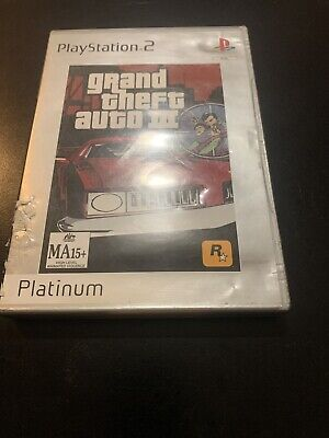 AU9.95 • Buy Grand Theft Auto III Greatest Hits (Sony PlayStation 2, 2003)