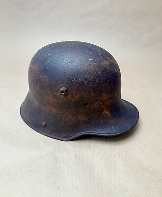 Very Rare Ww1 German M16 Helmet  Si.66  - Stahlhelm - M1916 • 250£