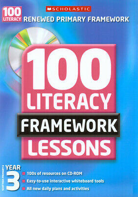 £2.53 • Buy 100 Literacy Framework Lessons. Year 3, Scottish Primary 4 By Gillian Howell