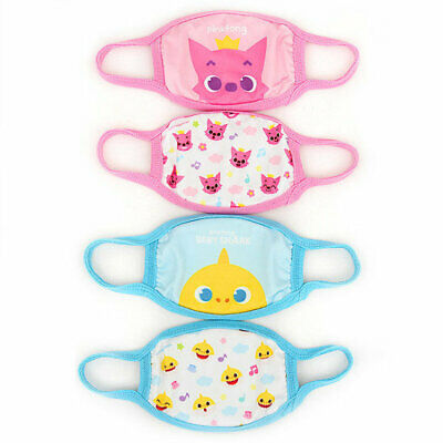 $10.95 • Buy Pinkfong Baby Shark Kids Protective Cotton Face Cover Mask Korea Product