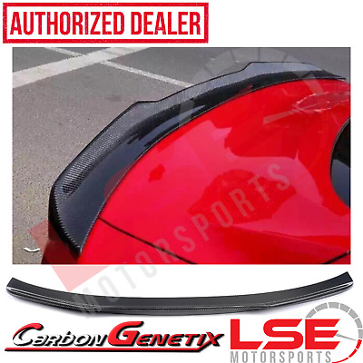 $169.99 • Buy Carbon Genetix Carbon Fiber Wing Spoiler For S550 2015-2020 Ford Mustang