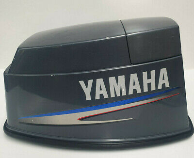 AU320 • Buy Yamaha 40 50hp Top Cowling Cowl Cover Outboard Engine Upper 3 Cyl 2 Stroke
