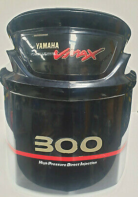 AU416.50 • Buy Yamaha 225 250 300 Hp VMAX HPDI Top Cowling Cowl Cover Outboard Engine