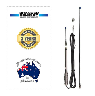 AU70 • Buy Benelec 02635 UHF CB Mobile Explorer Antenna 3 & 6dB - Elevated Feed