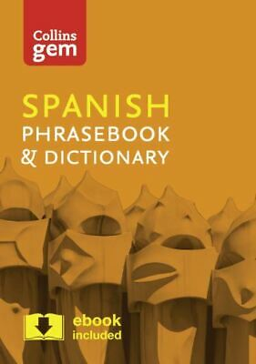 Collins Gem: Spanish Phrasebook & Dictionary By Collins Dictionaries (Paperback • 2.18£