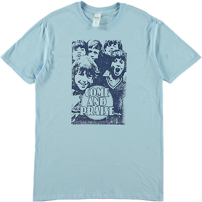 SRM Come And Praise Hymn Book Tee Sky Blue • 27.98£