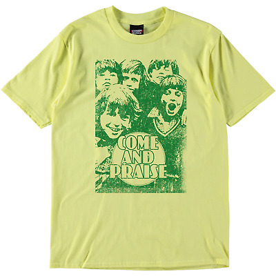 SRM Come And Praise Hymn Book Tee Yellow Green • 27.98£