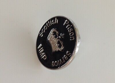 Scottish Prison Service HMP Pin Badge Prison Detention Officer  • 4.50£