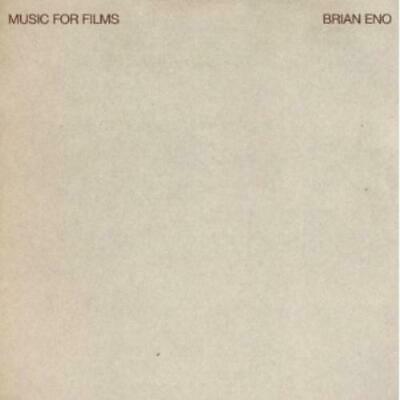 £12.99 • Buy Brian Eno : Music For Films CD Value Guaranteed From EBay's Biggest Seller!