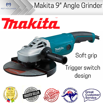 AU189.54 • Buy Makita M9001G 9-inch Angle Grinder 230mm 9 Inch Powerful 2000W