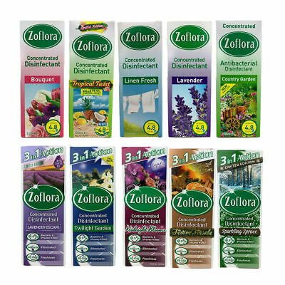 Zoflora Disinfectant Linen Lavender Limited Edition 56ml 120ml 250ml 500ml • 4.99£