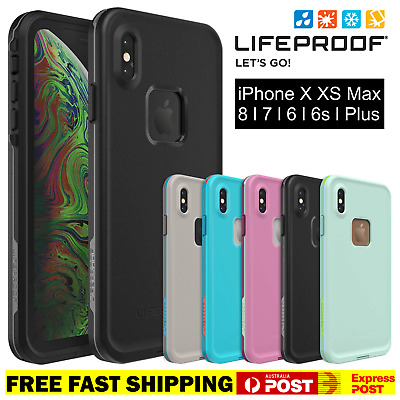 AU64.90 • Buy LifeProof Fre For IPhone X XR XS Max 6 7 8 Plus Waterproof Tough Slim Case Cover