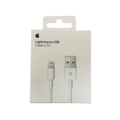 AU16.95 • Buy Genuine Apple Lightning USB Cable MD818 - Retail Pack IPhone IPad 1m