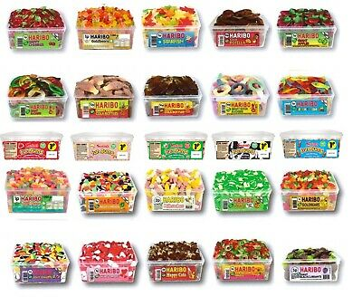 Tub Of Sweets Fizzy Bubblegum Bottles Gummy Jelly Pick N Mix Candy Party Bags • 9.80£