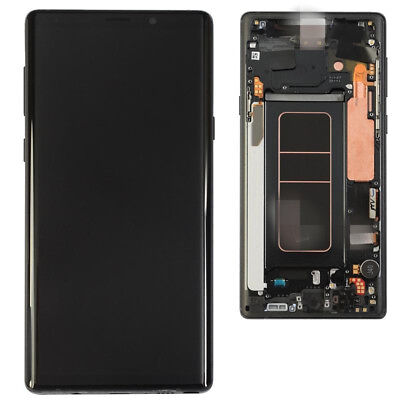 $ CDN299.99 • Buy Samsung Galaxy Note 9 LCD Screen Touch Digitizer Frame Assembly Black N960
